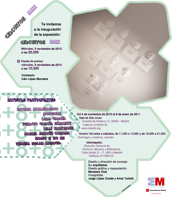Circuitos MMX curated by Ivn Lpez Munuera